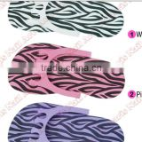 leopard Disposable Disposable Flip Flop Foam Slippers Foot Spas Pedicure For Nail Toe Salon