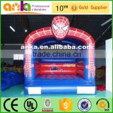 Professoinal design inflatable spiderman bouncer and slide