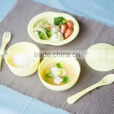 Baby product Dish 6pcs_Eco-Friendly Baby Tableware Set 6pcs made from cornstarch