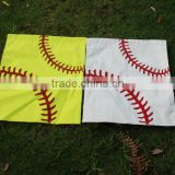 Wholesale Blanks Cotton Canvas Material Baseball Softball Flag Sports Flag Garden Decoration                                                                         Quality Choice