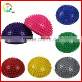 Crossfit Balance Training Foot PVC Spiky Half Massage Ball                                                                         Quality Choice