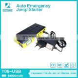 2015 Multi-function Jump Starter 12000mAh Emergency Jump Start for 12V Mini Jump Starter Auto Mobile Charger Power Bank