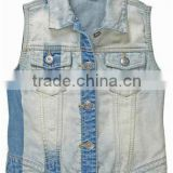 children's jeans jacket jean vest for boys