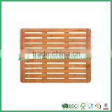 FB7-4010 bamboo bath mat with anti-skidding                                                                                                         Supplier's Choice