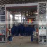 3 brushes, 5 brushes optional Rollover car wash machine price for sale with CE certification