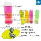hot sale big size test tube alien crystal putty toy /Alien Putty Toy,Barrel Slime, Crazy Slime