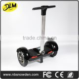 New Arrival 10 inch big tire two wheel smart self balancing electric with handle drift board scooter