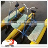 Beston Inflatable Water park cycle water bike for sale                                                                                                         Supplier's Choice