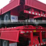 Competitive low price high quality 50ton 60ton 70ton CIMC 2016 new 3 axle side wall semi trailer for sale