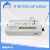 32 ports GSM gateway/imei change /voip gsm module
