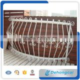 Modern wrought iron/metal/steel arch balcony railing designs