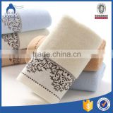 Factory Supply Cotton Cloth Jacquard Stock Hand Towel