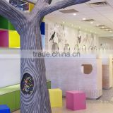 Tree Style Toy Kids Experience Shop Interior Design