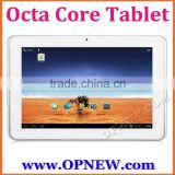 10 inch Octa Core tablet pc Android 5.1 lollipop Allwinner A83T Bluetooth Wifi 3G wholesale