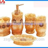 Factory supply New design Bathroom furniture polyresin bathroom product bathroom accessories