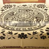 RTT - 9 Printed Bed Sheet Om Printed Bedcover Table Runner Tapestry Handmade bedspread wall hanging Jaipur manufacturer