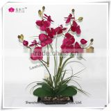 Wedding Flower Wholesale Artificial Silk Orchid Arrangemant