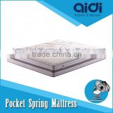 3-Zone Pocket Spring Natural Coconut Palm Fiber And Breathable Latex Denmark Bed Mattress