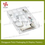 Crystal clear rectangle acrylic display box