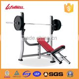 olympic weight press machine Incline Bench LJ-5523