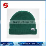 Different color high quality made in china beanie caps/beanie hats/knitting hats