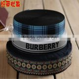 38mm Nylon Elastic Jacquard Webbing For Underwear,Heat Tranfer Printing Multicolour Decorative Pattern Elastic Band
