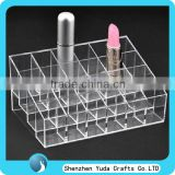 new hot high quality nail polish/varnish cosmetic makeup store lipstick display stand box bottle wholesale price