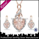 Imitation gold plated jewellery sets