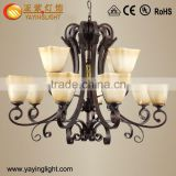Antique handcraft glass chandelier,antique reproduction chandeliers, antique glass chandeliers