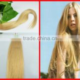Full Head Double Wefted Light Blonde Color Clip hair Cabelo 100% Human Virgin Hair Thick Deluxe Triple Clip In Lace Extensions