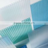 Polycarbonate Hollow Sheet Price/PC Sheet for Roofing/Canopy/Swimming Pool/Awning 100% virgin material