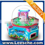 INQUIRY about Coin operated sweet land candy claw crane machine/ mini toys claw crane game machine/ four player crane claw machine for sale
