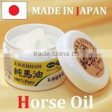 Unscented pure horse oil as beauty cream names for moisturizing