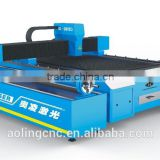 Fiber laser cutting machine in guangzhou city/cnc metal laser cutter for sheet and small pipe