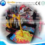 popular and factory price Interesting amusement kids ride on excavator for playing