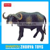 Plastic Animal Model Wild Animals African buffalo Figures toys