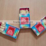 High quality wooden safety matches for Nigeria
