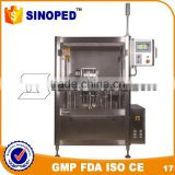 Automatic disposable prefilled glass syringe filling machines