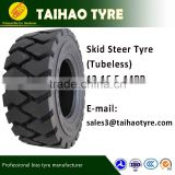 TAIHAO brand China tyre top china brand for soft muddy road bobcat skid steer tyre sks-2 10-16.5 12-16.5