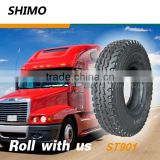 Common road used 8.25 16 new truck tires inner tube
