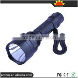 C8 Q5 560 Lumens LED flashlight 1 Mode red Light Tactical Flashlight Torch
