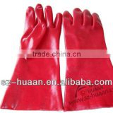 PVC gloves heavy duty Chemical resistant Gloves