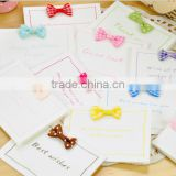 2016 new arrival custom bulk greeting cards Thank you card cheap greeting cards