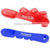 USA Made Measuring Spoons - available in 1/4, 1/2, 1 tsp and 1 tbsp sizes, features swivel-out design and comes with your logo
