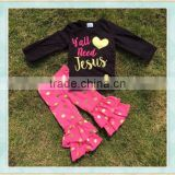 2018 new fashion easter pajamsa fall boutique second hand clothes in dubai newborn clothing