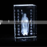high quanlity 3D laser engraving crystal cube