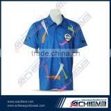 2017 new cricket jersey polyester make cricket jersey