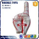 inflatable cheerleading toy wave hand 1 finger big hand for cheering