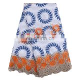 African New Arrival Wax Lace Fabric Material Cotton Ankara Embroidery Wax Print Fabric L170727001