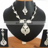 INDIAN DESIGNER SILVER PARTYWEAR JEWELRY